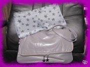Set geanta draguta pentru dame+stofa!! 180lei